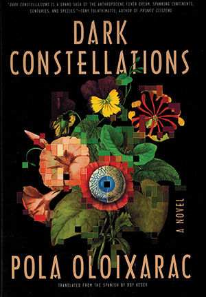 The cover to Dark Constellations by Pola Oloixarac