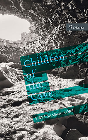 The cover to Children of the Cave by Virve Sammalkorpi