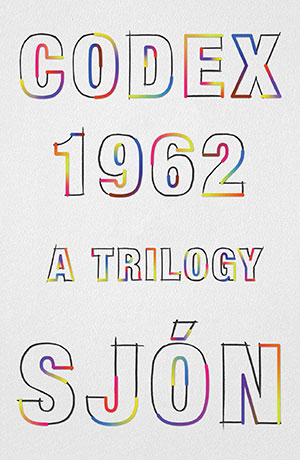 The cover to CoDex 1962 by Sjón