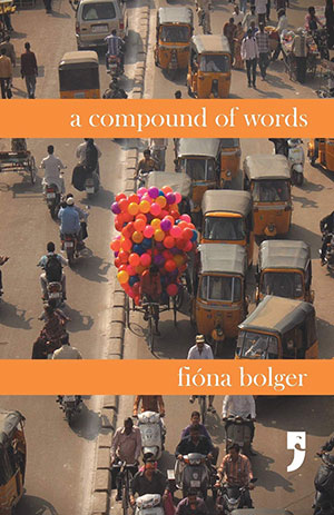 The cover to A Compound of Words by Fióna Bolger