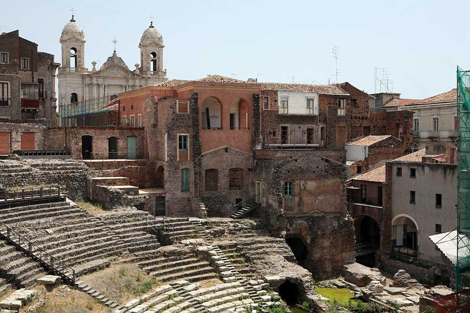 The Theatre of Catania, Sicily