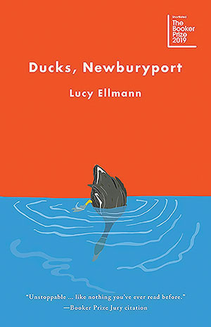 The cover to Ducks, Newburyport by Lucy Ellmann