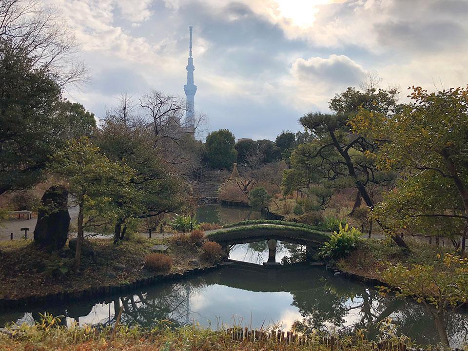 Mukōjima-Hyakkaen Garden in Tokyo