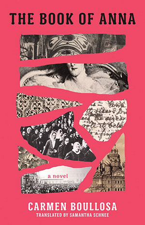 The cover to The Book of Anna by Carmen Boullosa