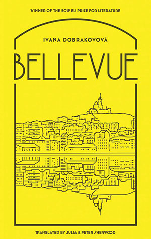 The cover to Bellevue by Ivana Dobrakovová