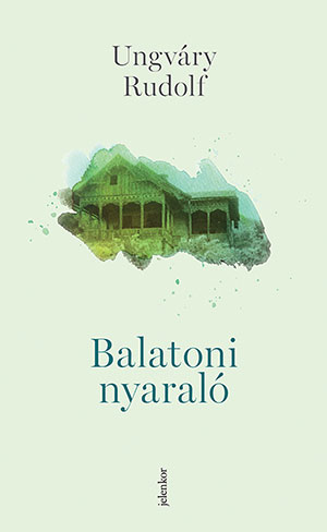 The cover to Balatoni nyaraló by Rudolf Ungváry