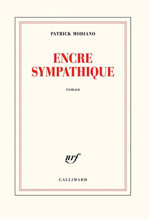 The cover to Encre sympathique by Patrick Modiano