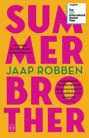 The cover to Summer Brother by Jaap Robben