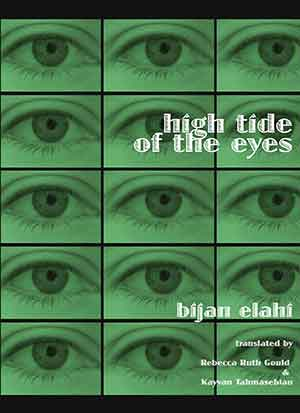 The cover to High Tide of the Eyes by Bijan Elahi