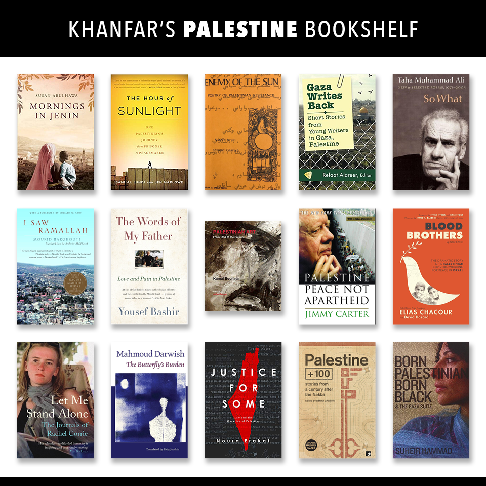 Covers to book included in the booklist below