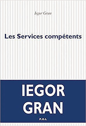The cover to Les Services compétents by Iegor Gran
