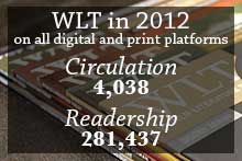 WLT Circulation and Readership in 2012