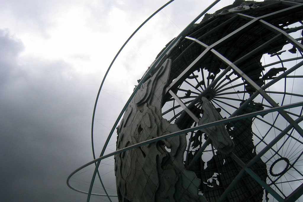 "Wally Gobetz, ""Unisphere,"" Corona Park, Flushing Meadows, New York, June 4, 2006"