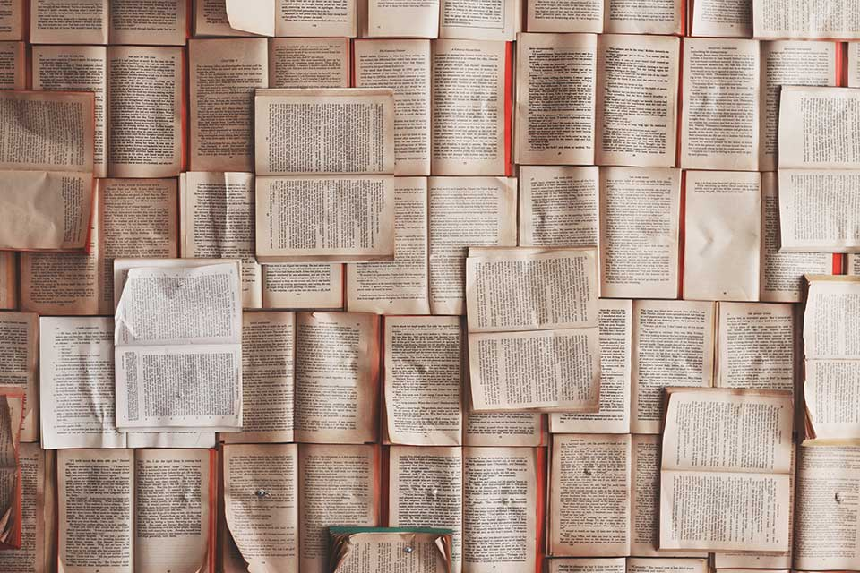 Open books. Photo by Patrick Tomasso/Unsplash