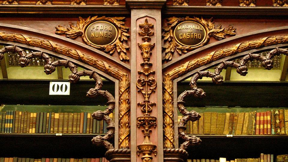 Portuguese Library in Rio de Janeiro, Brazil. Photo by Lauro Maia/Flickr