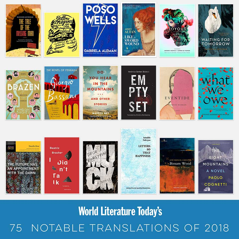 A collage of some of the titles featured in this year's list
