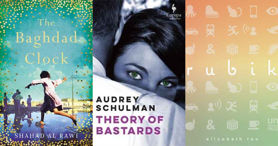 A triptych made of the three covers from the Summer Reads list