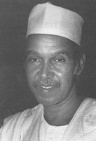A photograph of Nuruddin Farah