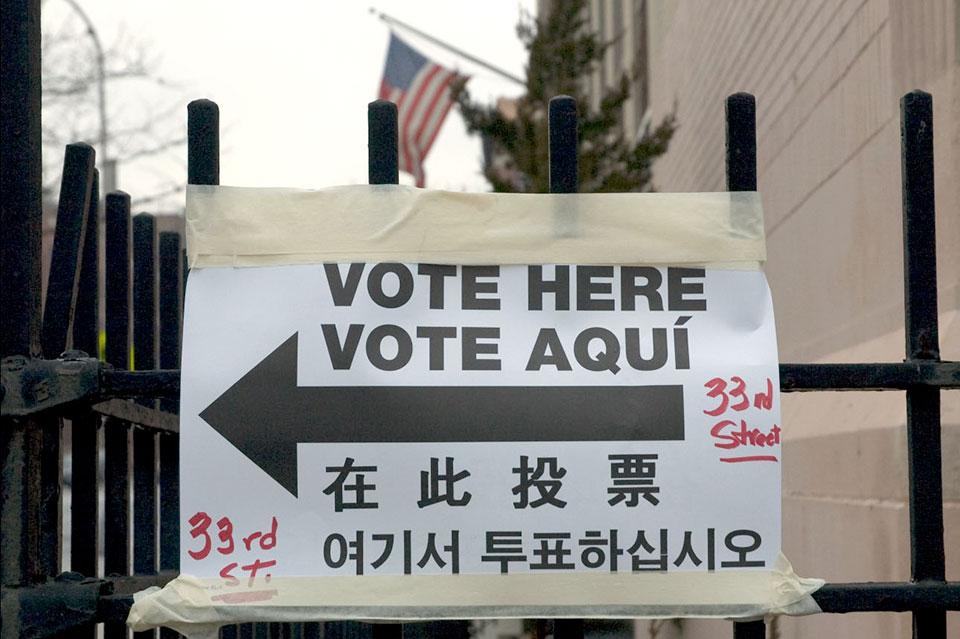 Vote Here, Vote Aqui