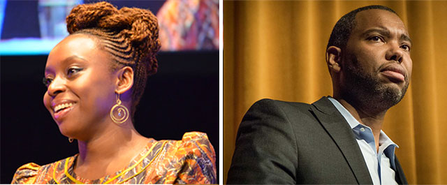 Chimamanda Ngozi Adichie and Ta-Nehisi Coates