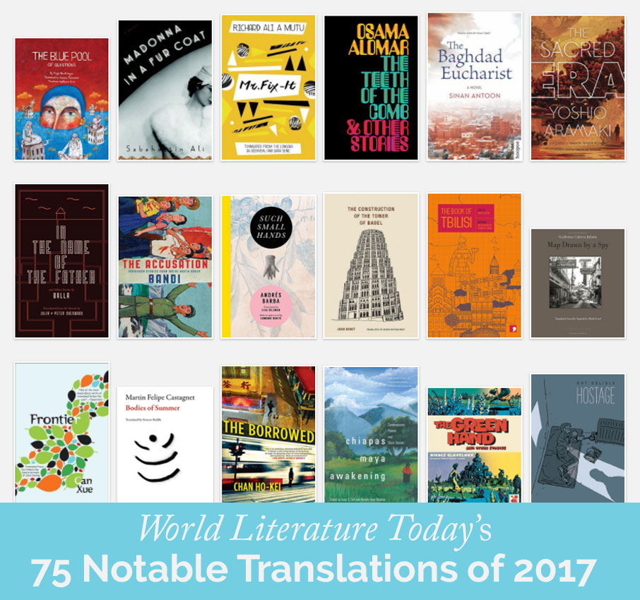 WLT's 75 notable translations 2017