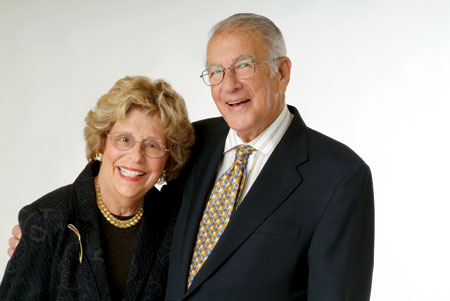 Walter and Dolores Neustadt. Photo: Shevaun Williams and Associates/Simon Hurst