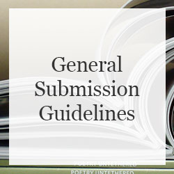 General Submission Guidlines