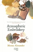 The cover to Atmospheric Embroidery by Meena Alexander