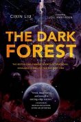The cover to The Dark Forest by Cixin Liu