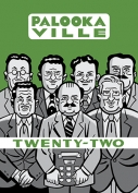 The cover to Palookaville, Twenty-Two by Seth