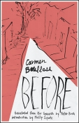 The cover to Before by Carmen Boullosa