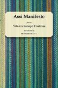 The cover to Assi Manifesto by Natasha Kanapé Fontaine