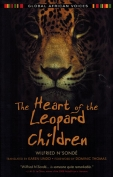 The cover to The Heart of the Leopard Children by Wilfried N'Sondé