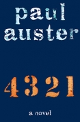 The cover to 4 3 2 1 by Paul Auster