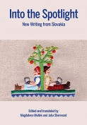 The cover to Into the Spotlight: New Writing from Slovakia