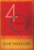 The cover to 40 Sonnets by Don Paterson