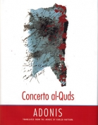 The cover to Concerto Al-Quds by Adonis