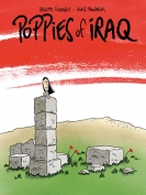 The cover to Poppies of Iraq by Brigitte Findakly & Lewis Trondheim