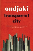 The cover to Transparent City by Ondjaki