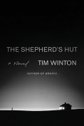 The cover to The Shepherd's Hut by Tim Winton