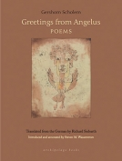 The cover to Greetings from Angelus: Poems by Gershom Scholem