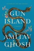 The cover to Gun Island by Amitav Ghosh