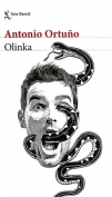 The cover to Olinka by Antonio Ortuño