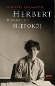 The cover to the first volume of Herbert: Biografia by Andrzej Franaszek