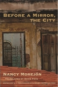 The cover to Before a Mirror, the City by Nancy Morejón