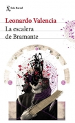 The cover to La escalera de Bramante by Leonardo Valencia