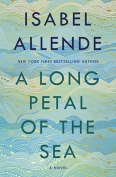 The cover to A Long Petal of the Sea by Isabel Allende