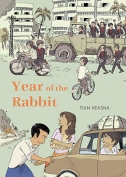 The cover to Year of the Rabbit by Tian Veasna