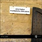 The cover to W pośpiechu rzeka płynie (Like a rushing river) by Anna Frajlich
