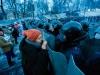 Protesters in Kiev